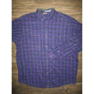 VINTAGE Patagonia Plaid Purle shirt XL